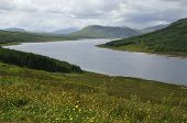 foto of na  - Loch Loyne and Drum na h Achlaise Highland Scotland - JPG