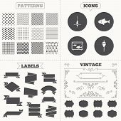 picture of hook  - Seamless patterns - JPG