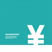 pic of yen  - Background with seamless pattern - JPG