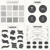 pic of tailoring  - Seamless patterns - JPG