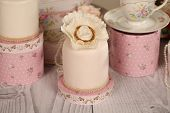 picture of ombres  - Capture of delicious mini cakes with icing - JPG