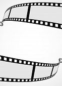 picture of stripping  - film reel strip abstract frame background  - JPG