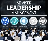 image of responsible  - Adviser Leadership Management Director Responsibility Concept - JPG