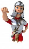 stock photo of legion  - Roman legionary soldier - JPG