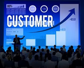 image of loyalty  - Customer Client Consumer Satisfaction Service Loyalty Concept - JPG