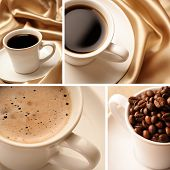 koffie collage
