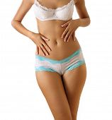 picture of woman body  - slim woman body - JPG