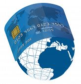 Credit Card On Globe