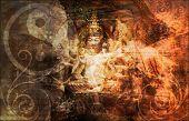Secret Society Gang Religion as Art Background