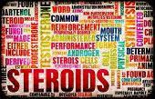 Steroids Abuse And Sports Doping Concept Art