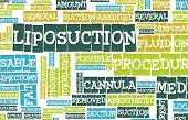 Liposuction Medical Procedure as a Concept Art
