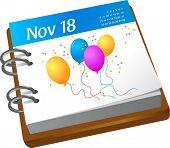 calendario - cumpleaños
