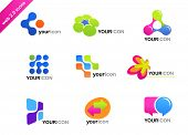 collection of abstract icons - for additional works of this kind, CLICK ON MY NICKNAME BELOW TO VISI