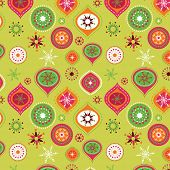 Christmas background and pattern