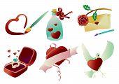 Valentine Clip Art 03 (Vector)