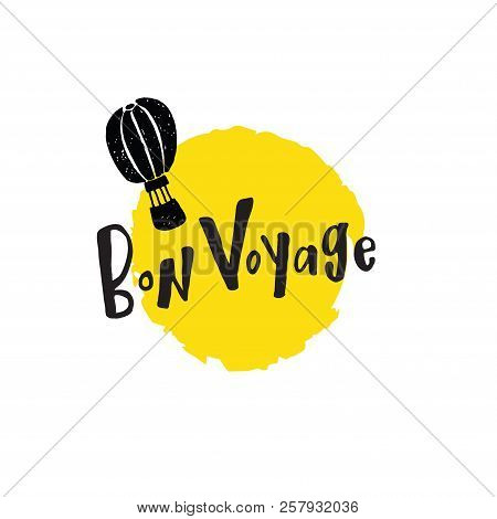 Bon Voyage Hand Lettering Card