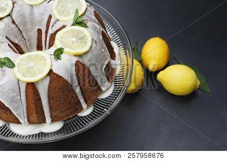 Whole Lemon Cream Cheese Bundt