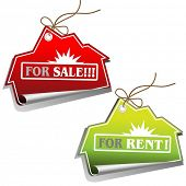 Real Estate Sales Tags