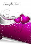 Pink Valentines Card