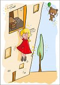 Greeting card - Hanging in there! - Everything grouped for easy use poster
