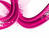 abstract line vector illustration