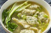 Homemade Chinese Wonton Soup poster