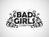 Bad Girls background