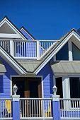 Bright Blue Beachside Home