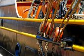 Rope Pullies on Sailboat
