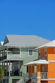 Community of Colorful Upscale Coastal Homes