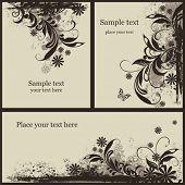 Set a decorative VINTAGE background