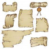 Set of papyrus (doodle)