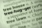 Dictionary Series - Environment: Treehugger