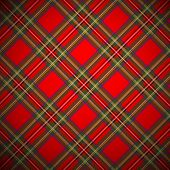 Royal Stewart tartan background