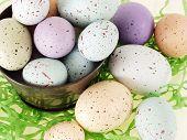 Pastel Flecked Eggs
