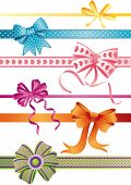stock photo of ribbon bow  - The illustration  - JPG