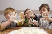 Kids Kneading Dough