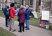 besetzen Exeter Aktivist