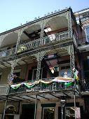 pic of katrina  - photo of a unique building in the french quarter  - JPG