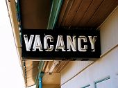 Vintage Neon Vacancy Sign