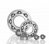 metall Ball bearings - industrial design