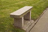 Bench Of Granite