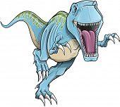 Ilustração do vetor de dinossauro Rex de Tyrannosaurus