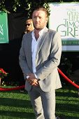 HOLLYWOOD, CA - AUGUST 6: Joel Edgerton arrives at the world premiere of 'The Odd Life of Timothy Gr
