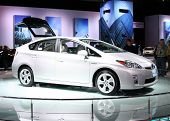The New Toyota Prius At The Autoshow 2009 In Chicago