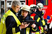 stock photo of fire brigade  - Fire brigade  - JPG