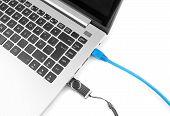 Cabo de rede para se conectar à rede para Laptop e Internet Pen Drive Usb. Ver os de cima.