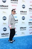 LOS ANGELES -  MAY 19:  Psy arrives at the Billboard Music Awards 2013 at the MGM Grand Garden Arena