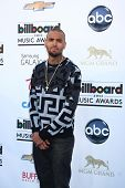 LOS ANGELES -  MAY 19:  Chris Brown arrives at the Billboard Music Awards 2013 at the MGM Grand Garden Arena on May 19, 2013 in Las Vegas, NV