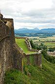 Scottish Castle Hill View